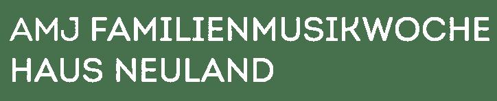 Familienmusikwoche Haus Neuland